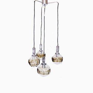 Austrian Cascade Ceiling Lamp from Oberglas, 1970s
