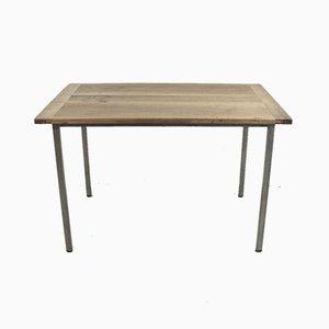 Tavolo da pranzo vintage in legno di noce