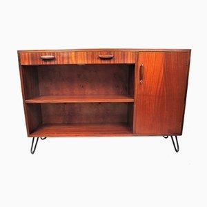Mahogany Veneered Cabinet, 1950s