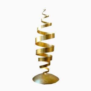 Lámpara de pie Spiral de Tom Dixon Studio, años 80