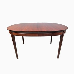 Oval Teak Dining Table, 1960s