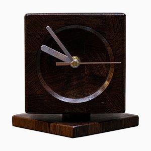Dänische Mid-Century Uhr von Lysgaard Mobler, 1960er
