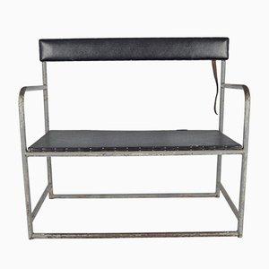 Vintage Bauhaus Folding Bench, 1930s
