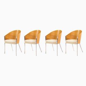Sedie da pranzo King Costes di Philippe Starck per Aleph, 1992, set di 4