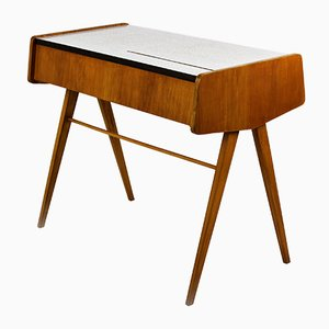 Mid-Century Gray Formica Dressing Table by František Jirák for Zapadoslovenske Nabytkarske Zavody, 1960s