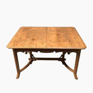 Art Deco Dutch Oak Dining Table, 1930s