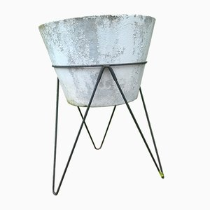 Metal Tripod Planter, 1950s