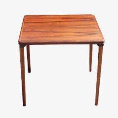 Mesa para lámpara danesa de palisandro, años 60