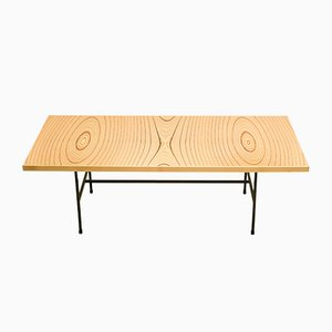 Table Basse en Contreplaqué Laminé par Tapio Wirkkala pour Asko, années 50