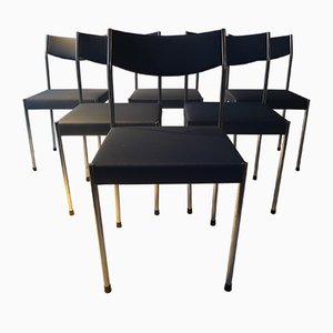 Mid-Century Dining Chairs by Edlef Bandixen, Set of 6