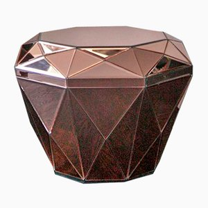 Diamond Burgundy Coffee Table by Reflections Copenhagen