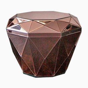 Table Basse Diamant Bordeaux par Reflections Copenhagen