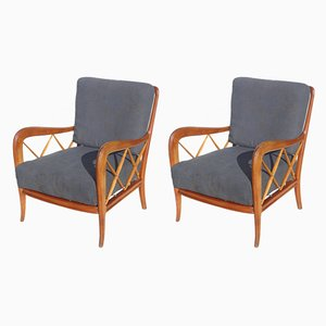 Italian Armchairs by Paolo Buffa, 1940s, Set of 2