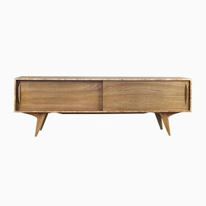 Finnish Oak Sideboard, 1960s