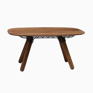 Tavolo da pranzo scultoreo Magnum di Pierre Favresse