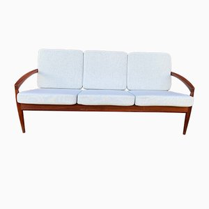 Rosewood Paper Knife 3-Seater sofa by Kai Kristiansen for Magnus Olesen, 1950s
