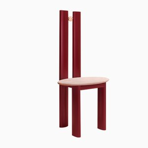 Alcova Stuhl aus Bronze & Quarzit von Ilaria Bianchi