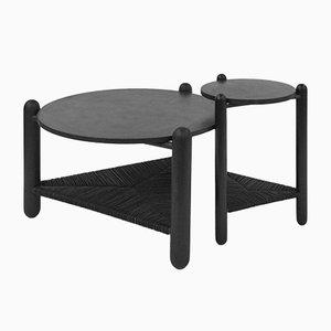 Tavolino The Captain's Table scolpito a mano di Nicholas Hamilton Holmes