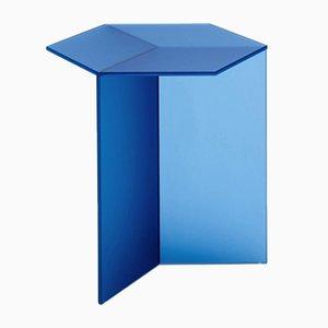 Grande Table Basse Isom en Verre Satiné par Sebastian Scherer
