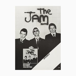 Vintage The Jam UK Tour Poster, 1977