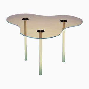 Glass Camo Coffee Table by Sebastian Scherer