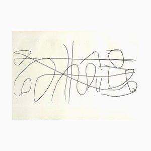 Composition Radierung von André Lanskoy, 1960