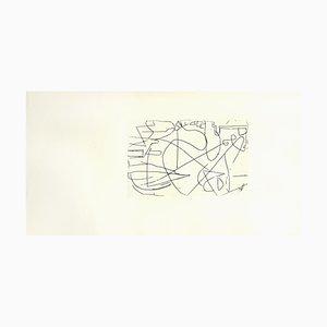 Acquaforte Composition di André Lanskoy, 1960