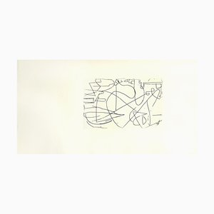 Composition Etching by André Lanskoy, 1960