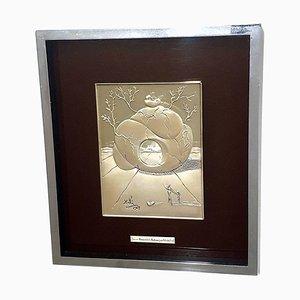 Universal Harmony Relief aus Silber von Salvador Dali, 1977