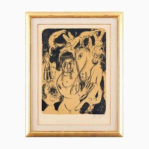 Litografía A Midsummer Nights Dream de Marc Chagall, 1974