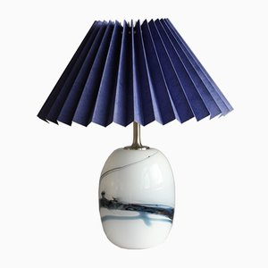 Danish Model Sakura Table Lamp by Michael Bang for Holmegaard, 1970s