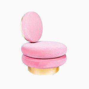 Canapé Simple « Marshmallow » Rouge par Royal Stranger
