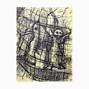 Litografia Composition di Max Ernst, 1958