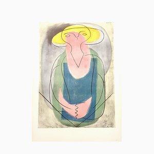 Lithographie Portrait d'une Femme, Réimpression, par Pablo Picasso, 1946