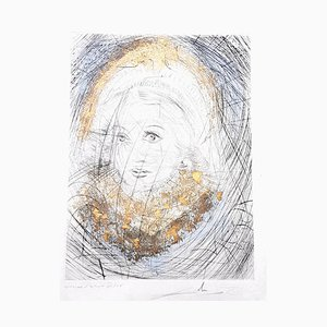 Marguerite Etching by Salvador Dali, 1968