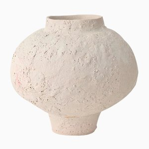 Glazes Isolated N.12 Stoneware Vase by Raquel Vidal and Pedro Paz