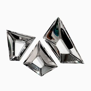 Decorative Cristals Wall Mirror by Zieta