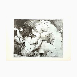 Impresión litografía Minotauro de Pablo Picasso, 1946