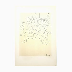 Four Ballet Dancers Lithograph by Pablo Picasso, 1946