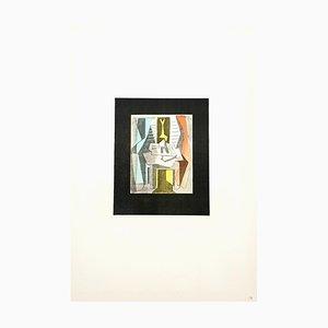 Litografía Table Before Window de Pablo Picasso, 1946