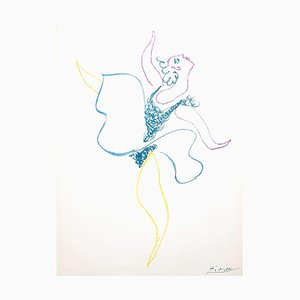The Ballet Dancer Lithografie von Pablo Picasso, 1954