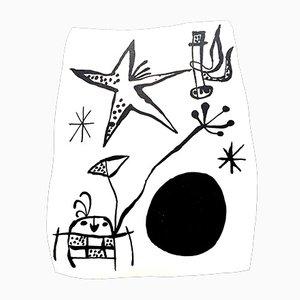 Back Cover di Joan Miró, 1956