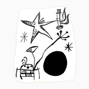 Back Cover von Joan Miró, 1956