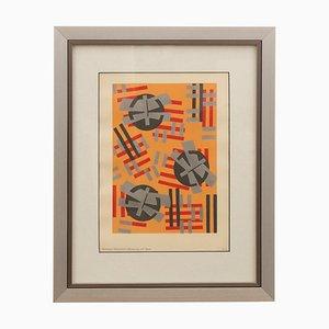 Pochoir Art Déco di Serge Gladky, Francia, anni '20