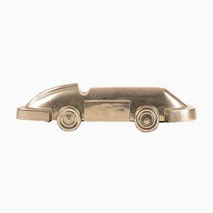 Auto in metallo cromato di L'Oca Nera, Italia, anni '90