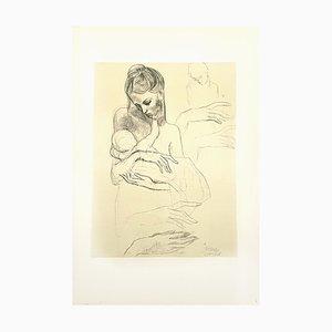 Litografía Mother and Child de Pablo Picasso, 1946