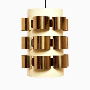 Lampe à Suspension par Werner Schou pour Cornell Elektro, Danemark, années 60