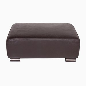 Vintage Leather Ottoman from Ewald Schillig
