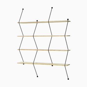 Natural Birch Climb Shelving System by Bashko Trybek