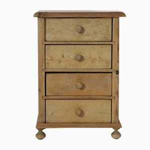 Vintage Danish Pine Chest of Drawers